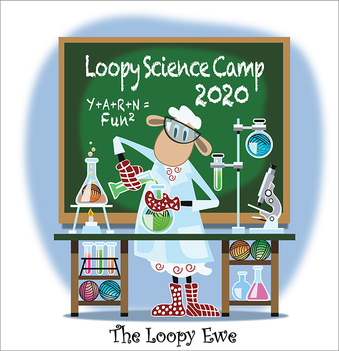 Camp Loopy Science Camp Camp Cast On The Loopy Ewe