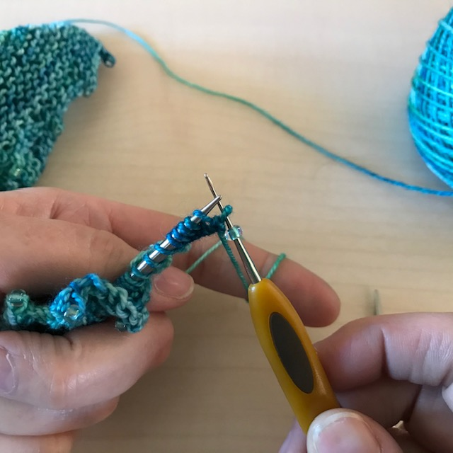 The Loopy Ewe Knitting with Beads
