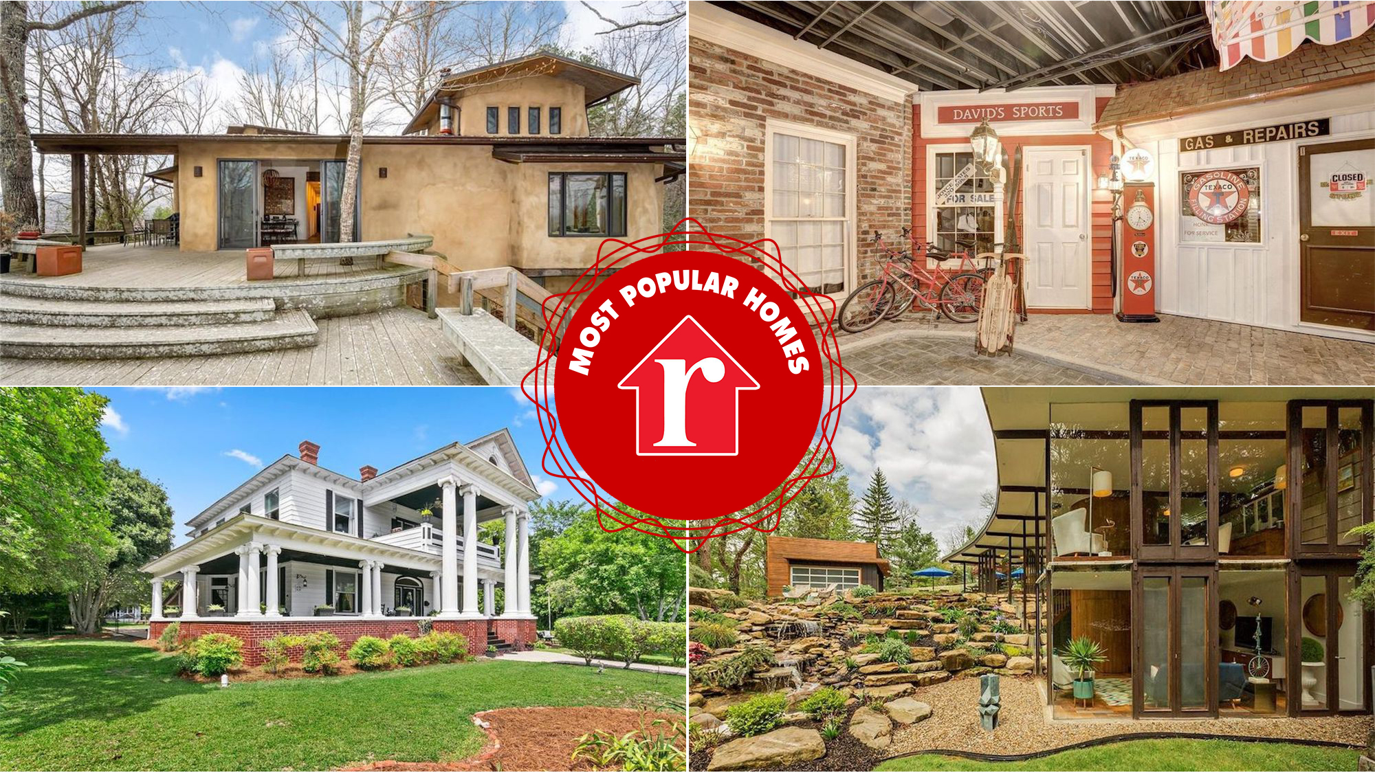 Most popular homes week of 6/5