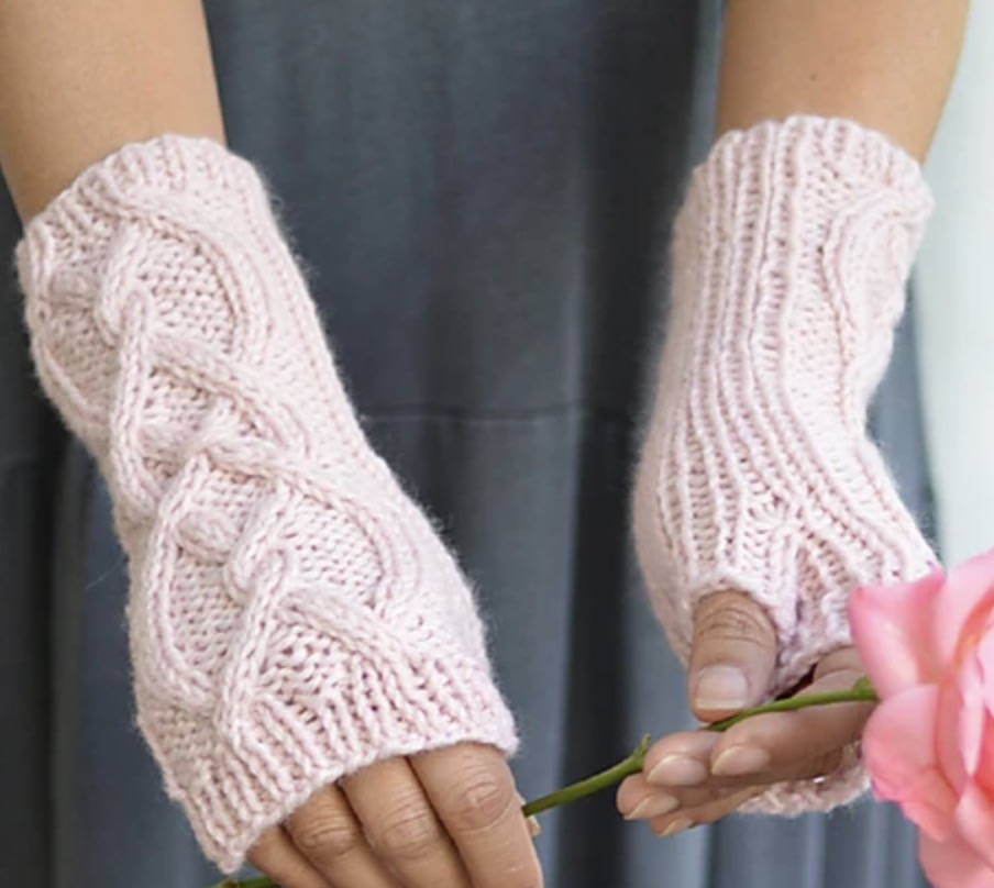 Riley Fingerless Gloves SweaterBabe